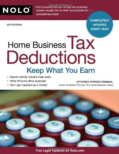 9781413310627: Home Business Tax Deductions: Keep What You Earn