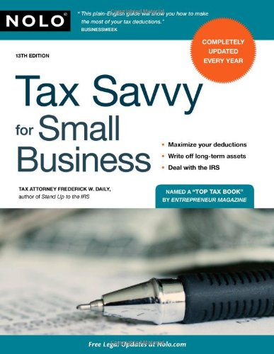 9781413310641: Tax Savvy for Small Business