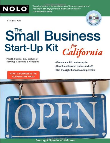 9781413311006: The Small Business Start-Up Kit for California