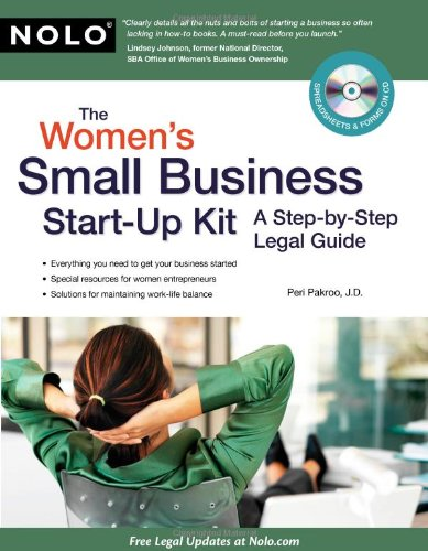 9781413311884: The Women's Small Business Start-Up Kit: A Step-by-Step Legal Guide