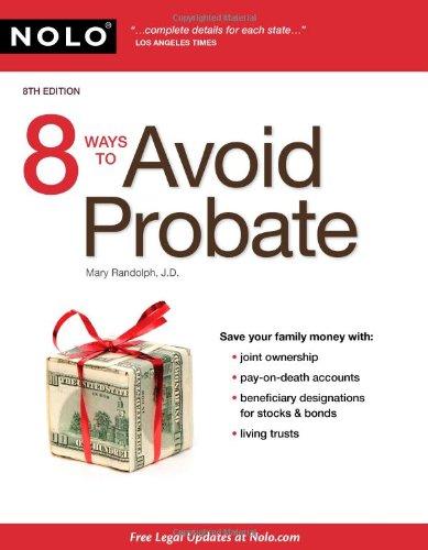 9781413311945: 8 Ways to Avoid Probate