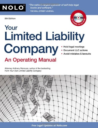 9781413312096: Your Limited Liability Company: An Operating Manual