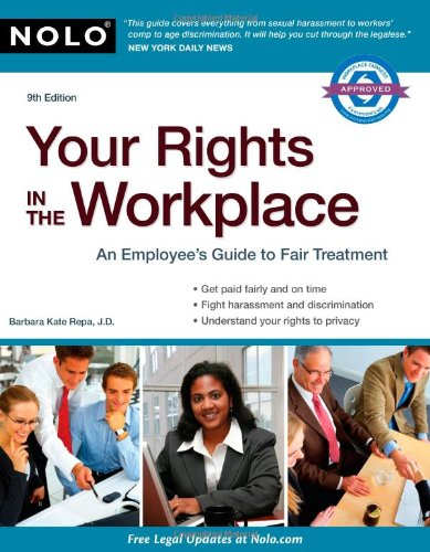9781413312102: Your Rights in the Workplace