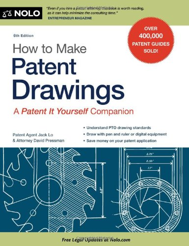 9781413312577: How to Make Patent Drawings: A Patent It Yourself Companion