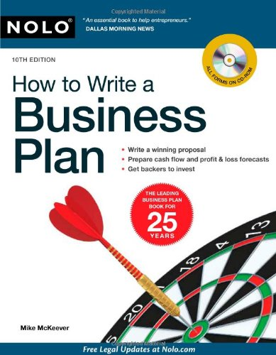 9781413312805: How to Write a Business Plan