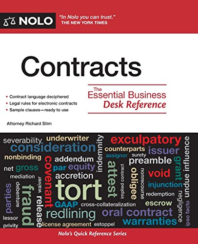 9781413312812: Contracts: The Essential Business Desk Reference
