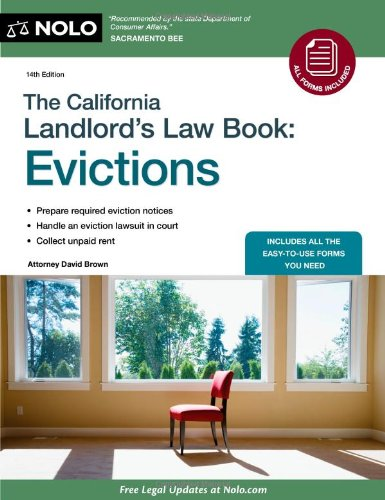 9781413313116: The California Landlord's Law Book: Evictions