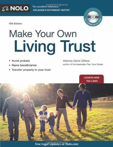9781413313161: Make Your Own Living Trust