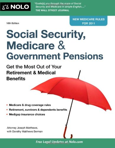9781413313277: Social Security, Medicare & Government Pensions: Get the Most Out of Your Retirement & Medical Benefits