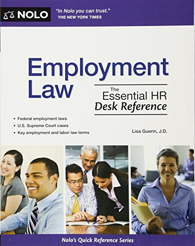 9781413313338: Employment Law: The Essential HR Desk Reference