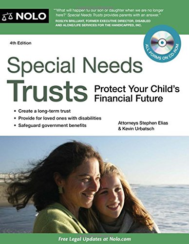 9781413313840: Special Needs Trusts: Protect Your Child's Financial Future (Special Needs Trust: Protect Your Childs Financial Future (W/CD))