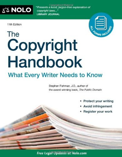 9781413316179: The Copyright Handbook: What Every Writer Needs to Know [With CDROM]