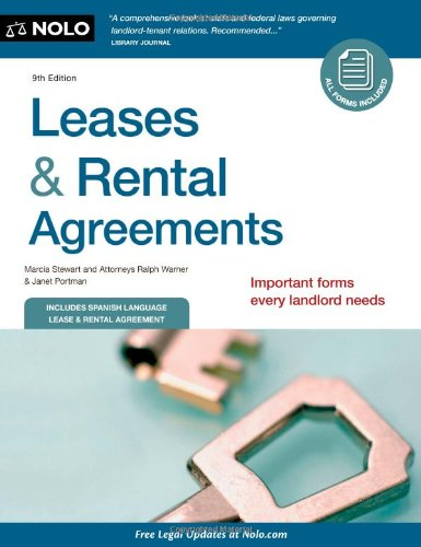 9781413316193: Leases & Rental Agreements
