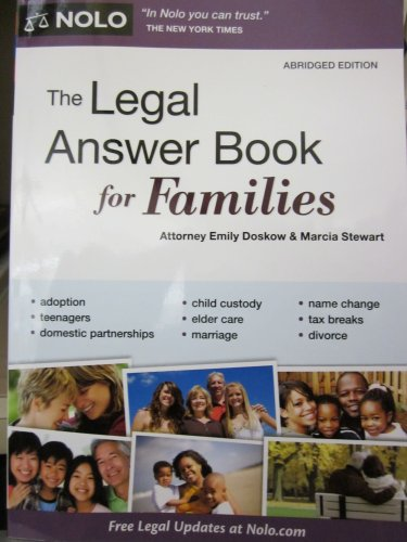 9781413316773: The Legal Answer Book for Families