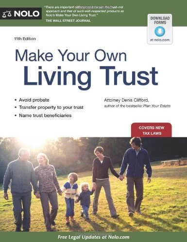 9781413318357: Make Your Own Living Trust