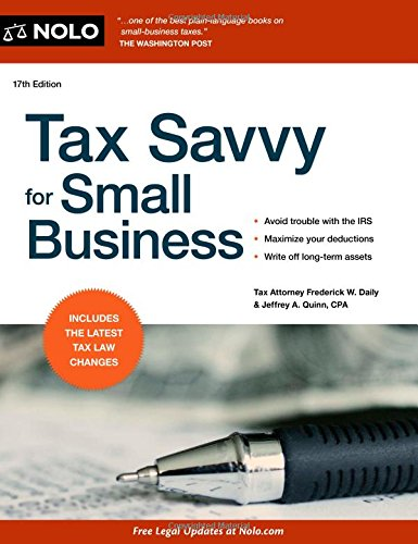 9781413319460: Tax Savvy for Small Business