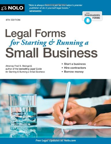 9781413319637: Legal Forms for Starting & Running a Small Business