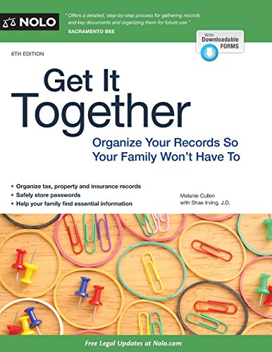 9781413320718: Get It Together: Organize Your Records So Your Family Won't Have To
