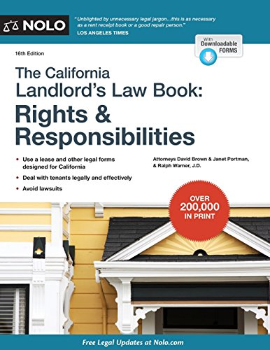 California Landlord's Law Book, The: Rights & Responsibilities (California Landlord's...