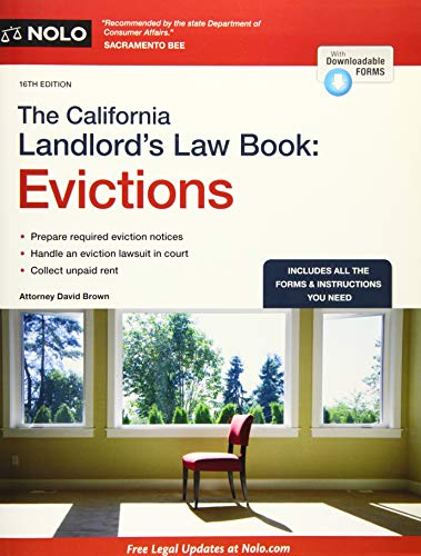 California Landlord's Law Book, The: Evictions (California Landlord's Law Book Vol 2 : ...
