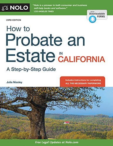 9781413322194: How to Probate an Estate in California