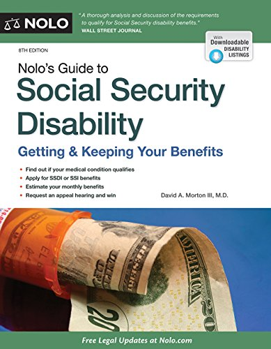 Nolo's Guide to Social Security Disability: Getting & Keeping Your Benefits: David A. ...
