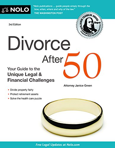 9781413322279: Divorce After 50: Your Guide to the Unique Legal and Financial Challenges