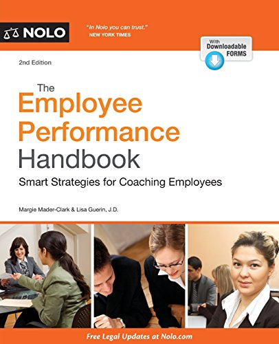 9781413322453: Employee Performance Handbook, The: Smart Strategies for Coaching Employees (Progressive Discipline Handbook)