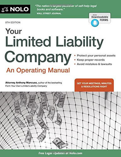Your Limited Liability Company: An Operating Manual (Paperback): Anthony Attorney Mancuso