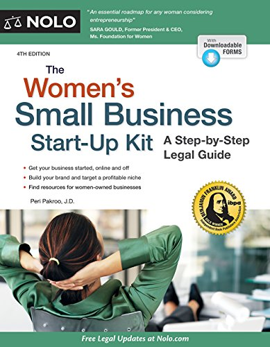 9781413322750: Women's Small Business Start-Up Kit, The: A Step-by-Step Legal Guide