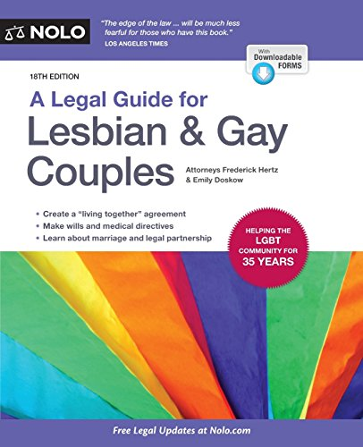 9781413322798: A Legal Guide for Lesbian & Gay Couples