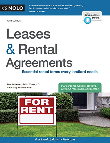 9781413324501: Leases & Rental Agreements