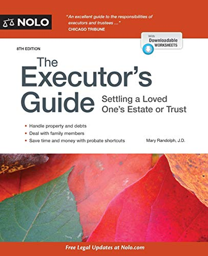 9781413324808: Executor's Guide, The: Settling a Loved One's Estate or Trust