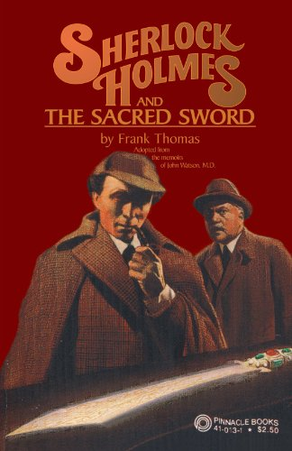 9781413427431: Sherlock Holmes and the Sacred Sword