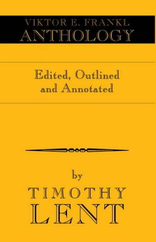 Viktor E. Frankl Anthology (1413453376) by Victor E. Frankl