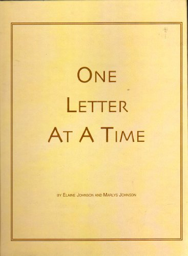 One Letter At A Time: Elaine Johnson, Marlys Johnson