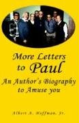 More Letters To Paul (9781413475265) by Albert Hoffman