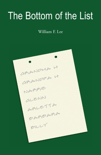 The Bottom of the List: William F Lee