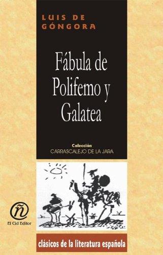 9781413516623: Fabula de Polifemo y Galatea