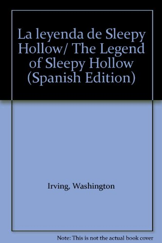 9781413588224: La leyenda de Sleepy Hollow/ The Legend of Sleepy Hollow