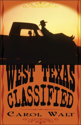 9781413748857: West Texas Classified
