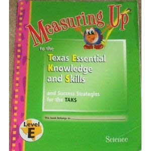 Measuring Up to the TEKS Level J