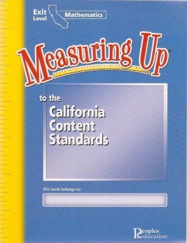9781413821802: Measuring Up California Mathematics Exit Level