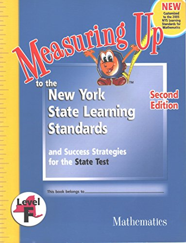 9781413823196: Measuring Up to the New York State Learning Standards (Mathematics Level F)