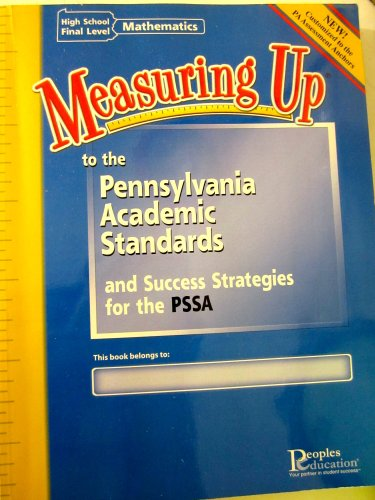 Measuring Up to the Pennsylvania Academic Standards: People Educations