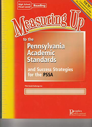 Measuring up to the Pennsylvania Academic Standards: Peoples Education