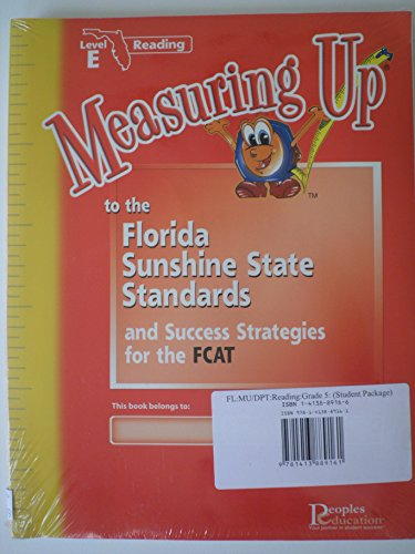 9781413889161: Measuring up to the Florida Sunshine State Standards and Success Strategies for the FCAT