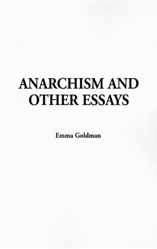 9781414251219: Anarchism and Other Essays