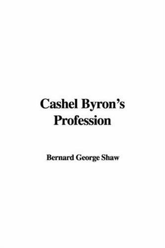 9781414253480: Cashel Byron's Profession