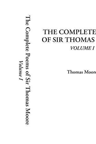 9781414261331: The Complete Poems of Sir Thomas Moore, Volume 1